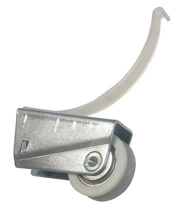 Obrázok pre výrobcu Koliesko dolné do rámovej lišty Laguna GAMA MULTIOM  8816