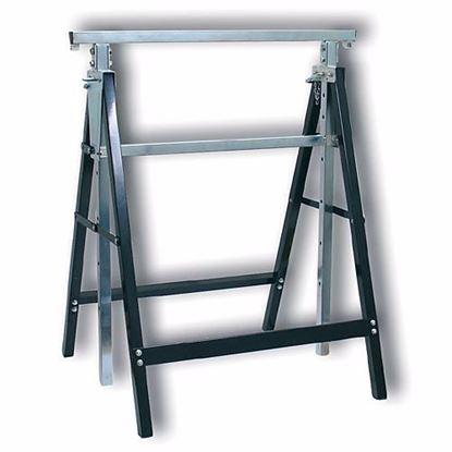 Obrázok pre výrobcu Koza stavebná nastaviteľná 79-130 cm 150 kg 36300