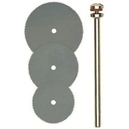 Obrázok pre výrobcu Proxxon Micromot 28830 kotúč pílový 16,19,22 x 0,1 x 1,8 mm /3 ks