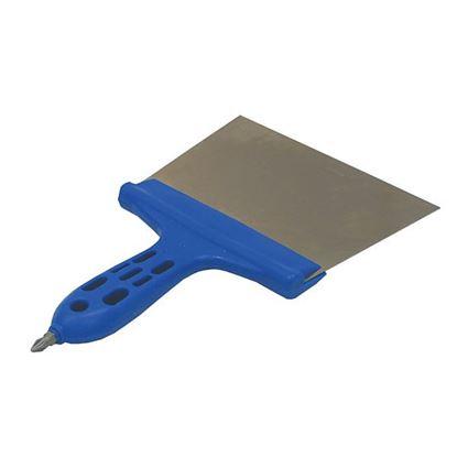 Obrázok pre výrobcu Špachtla nerezová 150mm, plastová rukoväť Extol 700545