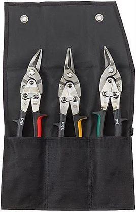 Obrázok pre výrobcu Bessey DSET16-A Sada nožníc na plech (priame, ľavé a pravé)