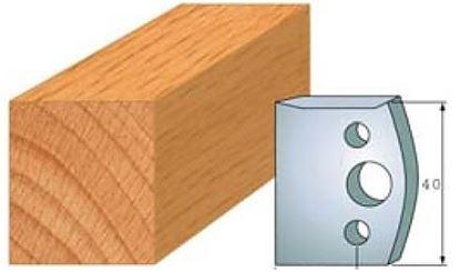 Obrázok pre výrobcu Profilový nôž 40 mm F026-000 / obmedzovač F027-000