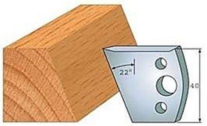 Obrázok pre výrobcu Profilový nôž 40 mm F026-001 / obmedzovač F027-001
