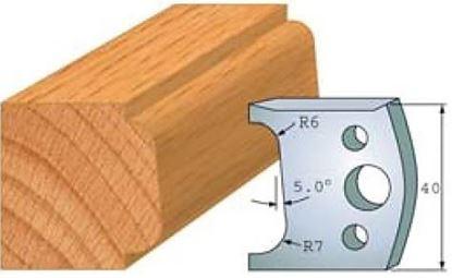 Obrázok pre výrobcu Profilový nôž 40 mm F026-002 / obmedzovač F027-002