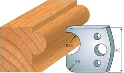 Obrázok pre výrobcu Profilový nôž 40 mm F026-004 / obmedzovač F027-004