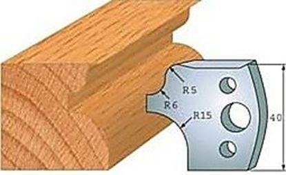 Obrázok pre výrobcu Profilový nôž 40 mm F026-011 /  obmedzovač F027-011