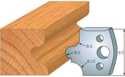 Obrázok pre výrobcu Profilový nôž 40 mm F026-012 /  obmedzovač F027-012