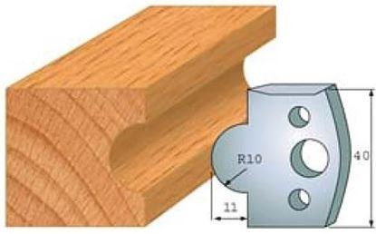Obrázok pre výrobcu Profilový nôž 40 mm F026-014 / obmedzovač F027-014