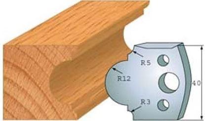 Obrázok pre výrobcu Profilový nôž 40 mm F026-018 / obmedzovač F027-018