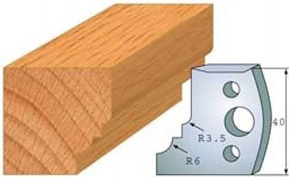 Obrázok pre výrobcu Profilový nôž 40 mm F026-019 / obmedzovač F027-019