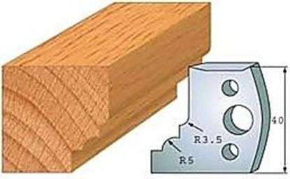 Obrázok pre výrobcu Profilový nôž 40 mm F026-020 / obmedzovač F027-020