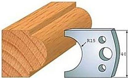 Obrázok pre výrobcu Profilový nôž 40 mm F026-066 / obmedzovač F027-066