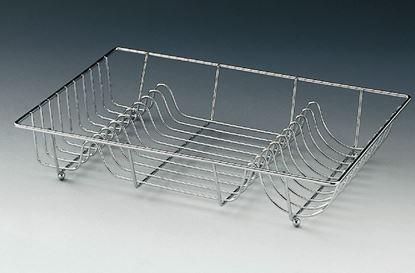 Obrázok pre výrobcu Stojací odkapávač na riady s umelou táckou