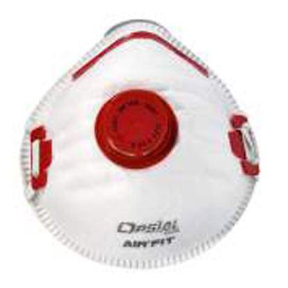 Obrázok pre výrobcu Opsial Respirátor pevný FFP3D s ventilčekom