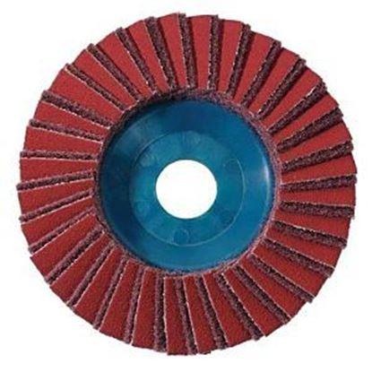 Obrázok pre výrobcu Kombinovaný lamelový brúsny kotúč 125 mm stredný Metabo 626370000