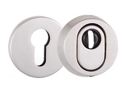 Obrázok pre výrobcu Rozeta k madlu Greente Q okrúhla bezpečnostná pár