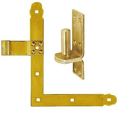 Obrázok pre výrobcu Záves rohový 250 mm 827101 + montáž čapu 830411