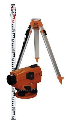 Obrázok pre výrobcu Nivelačný prístroj NEDO F24 set 463105