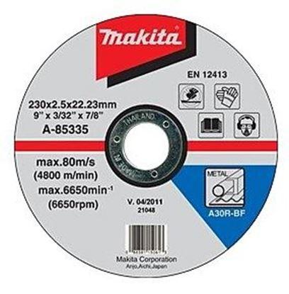 Obrázok pre výrobcu Makita A-85335 Kotúč rezný na kov