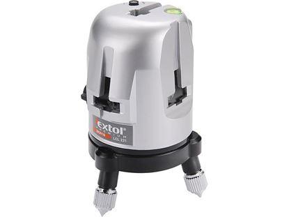 Obrázok pre výrobcu Extol 8823310 Vodováha laserová krížová, samourovnávacia