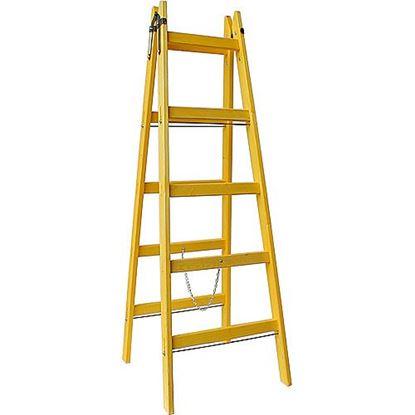 Obrázok pre výrobcu Drevený rebrík DRD