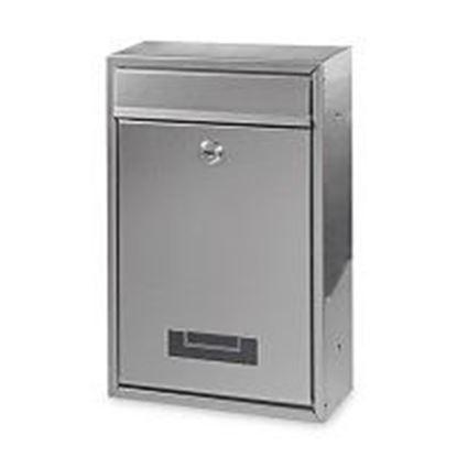 Obrázok pre výrobcu Poštová schránka BK240N nerezová