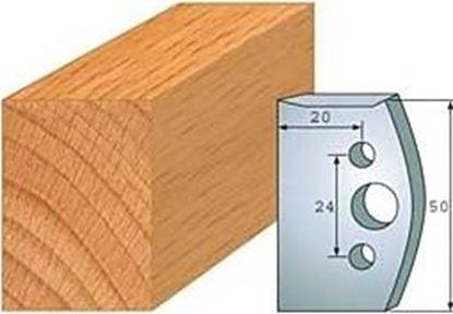 Obrázok pre výrobcu Profilový nôž 50 mm F026-500 + obmedzovač F027-500