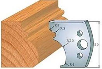 Obrázok pre výrobcu Profilový nôž 50 mm F026-501+ obmedzovač F027-501