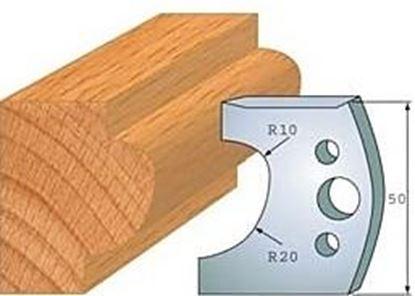 Obrázok pre výrobcu Profilový nôž 50 mm F026-504+ obmedzovač F027-504