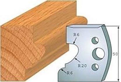 Obrázok pre výrobcu Profilový nôž 50 mm F026-505 + obmedzovač F027-505