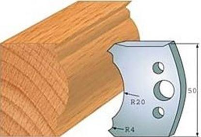 Obrázok pre výrobcu Profilový nôž 50 mm F026-507+ obmedzovač F027-507