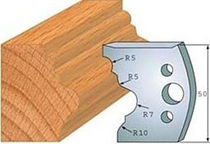 Obrázok pre výrobcu Profilový nôž 50 mm F026-508 + obmedzovač F027-508