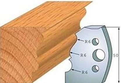 Obrázok pre výrobcu Profilový nôž 50 mm F026-509+ obmedzovač F027-509
