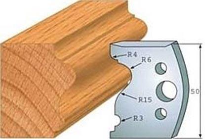 Obrázok pre výrobcu Profilový nôž 50 mm F026-512 + obmedzovač F027-512