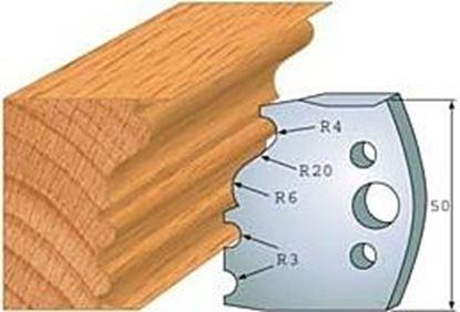 Obrázok pre výrobcu Profilový nôž 50 mm F026-513 + obmedzovač F027-513