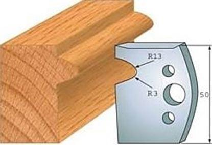 Obrázok pre výrobcu Profilový nôž 50 mm F026-516 + obmedzovač F027-516