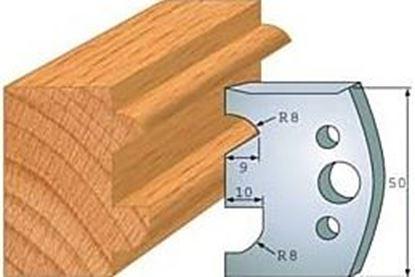 Obrázok pre výrobcu Profilový nôž 50 mm F026-517 + obmedzovač F027-517