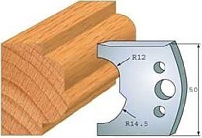 Obrázok pre výrobcu Profilový nôž 50 mm F026-519 + obmedzovač F027-519