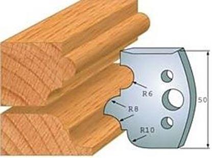 Obrázok pre výrobcu Profilový nôž 50 mm F026-520 + obmedzovač F027-520