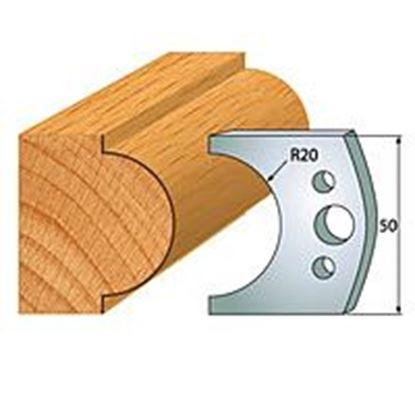 Obrázok pre výrobcu Profilový nôž 50 mm F026-561 + obmedzovač F027-561