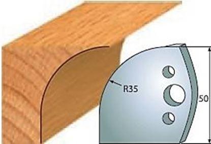 Obrázok pre výrobcu Profilový nôž 50 mm F026-564 + obmedzovač F027-564