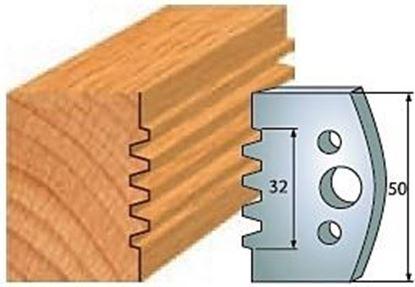Obrázok pre výrobcu Profilový nôž 50 mm F026-576 / obmedzovač F027-576