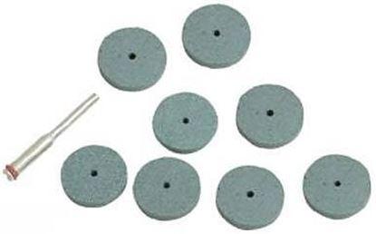 Obrázok pre výrobcu Sada brúsnych kotúčov Silverline 9ks, S3,1mm, 125-778646