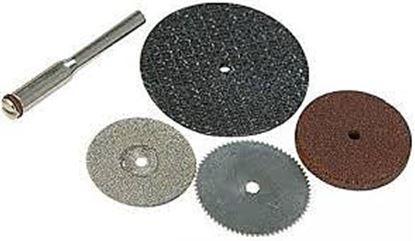 Obrázok pre výrobcu Sada rezných kotúčov Silverline 5kusov, S3,1 mm, 125-783161