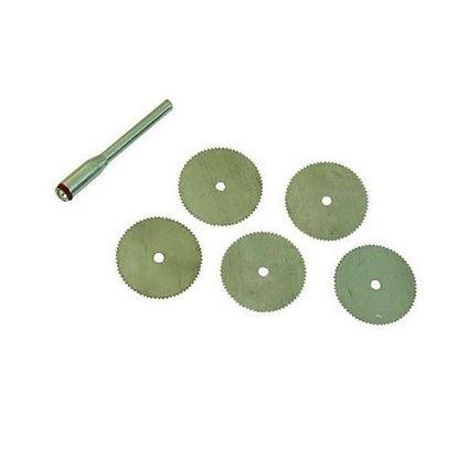 Obrázok pre výrobcu Sada pílových kotúčov Silverline 6 kusov, S3,1mm, 125-656628