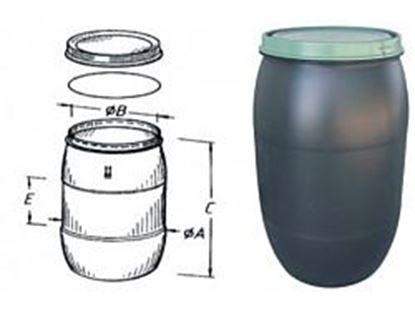 Obrázok pre výrobcu Plastový sud 120 L 5531