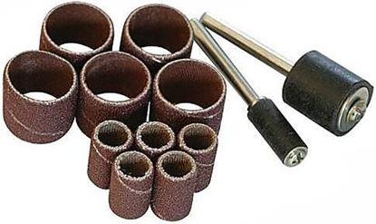Obrázok pre výrobcu Sada brúsnych pásov s valčekom 12 kusov Silverline, S3,1, 125-675272