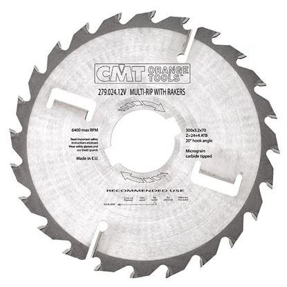 Obrázok pre výrobcu CMT C280 Rozmietací kotúč s vyhadzovacím zubom tenký