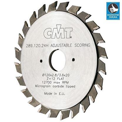 Obrázok pre výrobcu Predrezové pílové kotúče CMT C289