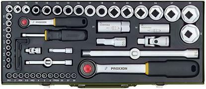 "Obrázok pre výrobcu Gola sada Proxxon 56dl. 1/4"" a 1/2"" 23040"